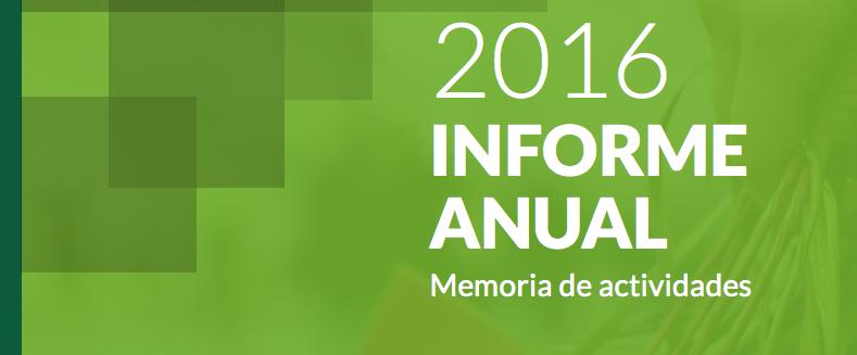 Informe anual 2016. Memoria de actividades CEC