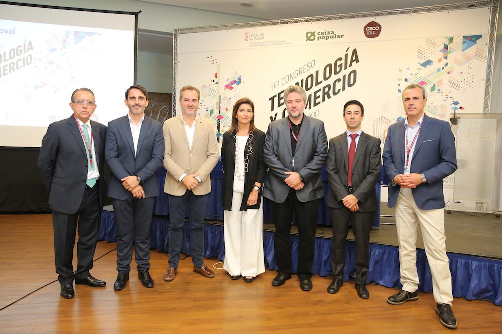 Más de un centenar de empresarios participan en el I Congreso de Tecnología y Comercio en Valencia