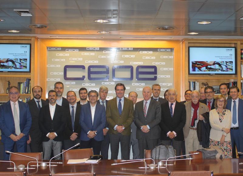 La Comisión de Comercio de CEOE mantiene un encuentro con las principales asociaciones de consumidores