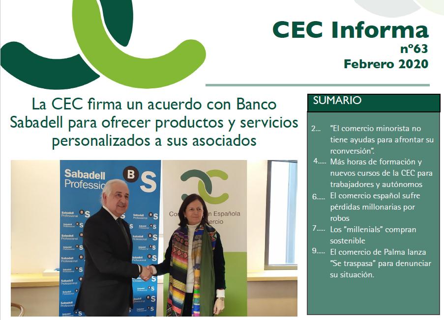Boletín CEC Informa (nº 63)