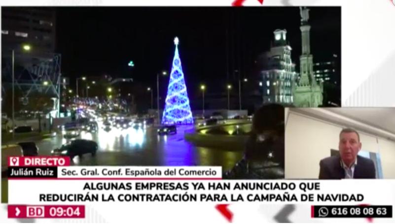 """""""Es necesario aplicar ayudas directas al consumidor para incentivar el consumo"""" Julián Ruiz en Buenos días Madrid"""