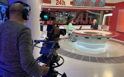 «Facturamos un 40% menos» Pedro Campo en «La tarde en 24h» de RTVE
