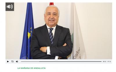 Pedro Campo en La Mañana de Andalucía: «El consumidor tiene que preguntarse qué tipo de entorno quiere para vivir»