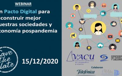 Intervención de Rafael Torres, Vicepresidente de CEC, en la webinar sobre digitalización de AVACU
