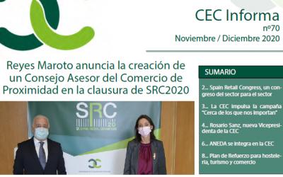 Boletín CEC Informa (nº 70)