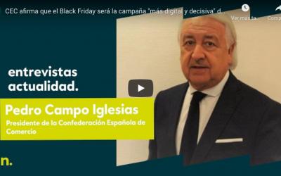 «Pedimos a los consumidores que apuesten por los comercios de su entorno» Pedro Campo, en Negocios TV
