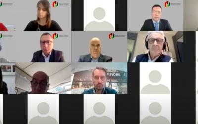 Rueda de prensa de presentación de la Alianza de Comercio y Hostelería de España