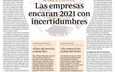 «Encaramos 2021 con muchísimas incertidumbres» Pedro Campo en ABC