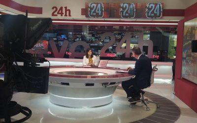 Entrevista al Secretario General de CEC, Julián Ruiz, en el Canal 24h