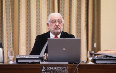Comparecencia de CEC en la Mesa de la Comisión de Industria, Comercio y Turismo